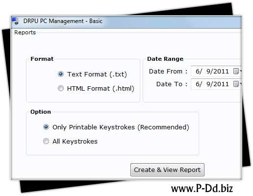 Keylogger Program screenshot
