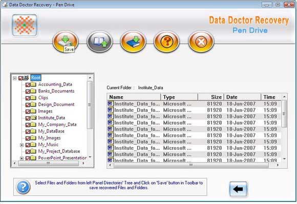 Pen drive repair tool to recover lost files
